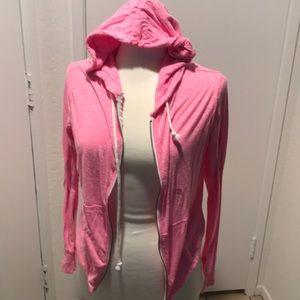 Aeropostale NWOT pink zip up hoodie